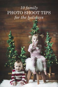 Get ideas and tips for taking your family photo for your holiday cards this year. You'll be taking your best ever Christmas card photo in no time! [ad]