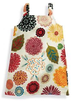 Sunday dress in flower : for my girl