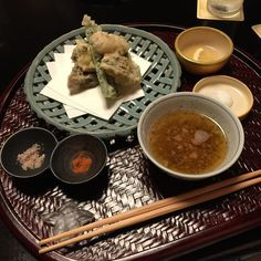 #Kaiseki #Dinner live tweeting. Second #Tempura dish. #HellYes #Japan #JPIG #Kyoto #FoodJapan #FoodPorn #NoFilter #Ryokan by ivorization