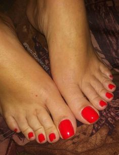 Only sexy feet Pretty Toe Nails, Cute Toe Nails, Pretty Toes, Red Toenails, Long Toenails, Foot Pedicure, Nice Toes, Painted Toes, Soft Feet
