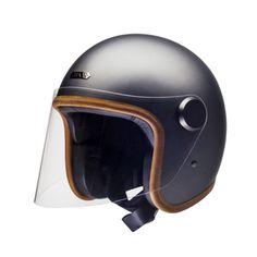 Hedon Epicurist Helmet - Ash - Revival Cycles Bobber, Ash Grey, Open Face, 3880334819d6