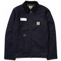 Wtaps x Carhartt Detroit Jacket / Jacket. Carhartt Detroit Jacket, Snowboarding Outfit, Product List, Sweater Jacket, Streetwear Fashion, Cotton Canvas, Casual Wear, Parka, Vests