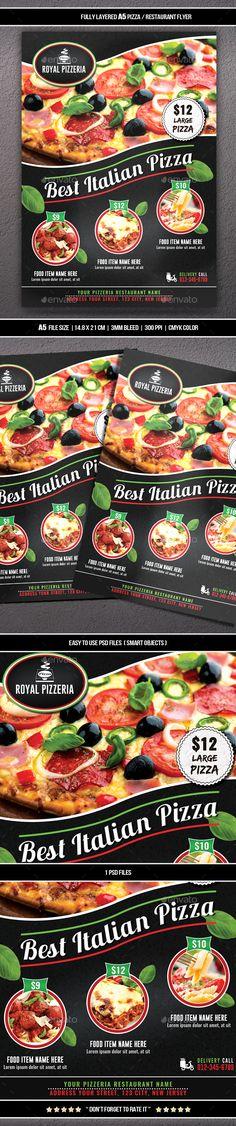 Restaurant Flyer  Restaurants Flyer Template And Restaurant Branding