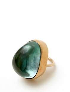 Peter Hofmeister solstice obsydian ring at Bird : ShopBird.com