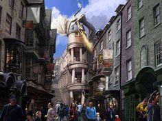 Sneak peek inside Harry Potter World's Diagon Alley