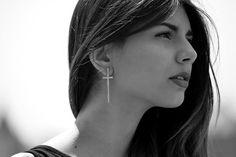 www.avocada.eu Black And White Portraits, Summer Collection, Hoop Earrings, Metal, Jewelry, Fashion, Self, Moda, Jewlery