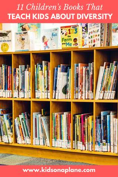 If you're looking to diversify your child's library, we've got a list of books you should have on your shelves! Your kids will enjoy these quality reads Teaching Kids, Kids Learning, New Books, Good Books, Kids Activities At Home, Counting Books, Book Reviews For Kids, Kids Library, Alphabet Book