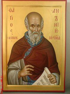 Saint Antonio, Orthodox Icons, Saints, Contemporary, Children, Cards, Painting, Inspiration, Byzantine