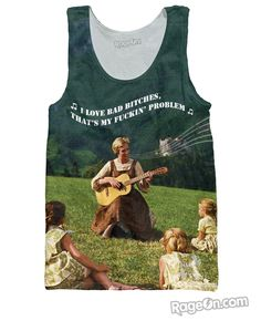 Sound of Bad Bitches Tank Top – RageOn! - The World's Largest All-Over-Print Online Store