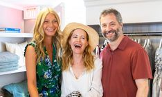 Gwyneth Paltrow & Leslie Mann Have Fun in the Hamptons! Gwyneth Paltrow and Leslie Mann are joined by Judd Apatow while attending the goop x Lilly Pulitzer event at the goop Sag Harbor store on Tuesday (July in the… Leslie Mann, Sag Harbor, Gwyneth Paltrow, The Hamptons, Southern Prep, Lilly Pulitzer, Love Her, Tuesday, Fun