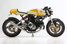 There's a steady demand for Walt Siegl's café racer Ducatis. And looking at these images of his latest Leggero, it's not hard to see why: timeless lines, well-chosen components, and immaculate build quality. Siegl is a keen racer too, so these bikes can hold their own on the most demanding of roads. Siegl offers a…