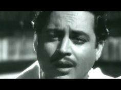 """Jaane woh kaise log they jinko"" classic song #gurudutt ‪#‎HemantKumar‬ has sung"