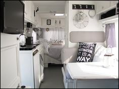 Home Sweet Motorhome...black and white