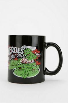 Teenage Mutant Ninja Turtles Mug - Urban Outfitters Tmnt Turtles 8a7a9ae950f3