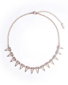 Point Taken Necklace by JewelMint.com, $29.99