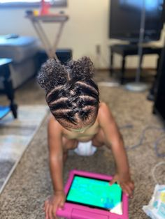Easy Toddler Hairstyles, Cute Toddlers, Fruit, Hair Styles, Food, Hair Plait Styles, Cute Kids, Hair Makeup, Essen