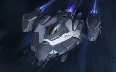 Скачать обои космический корабль, фантастика, art, spaceship, раздел фантастика…