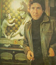 leonard cohen - absolutely one of the best songwriters ever.  Famous Blue Raincoat, Suzanne, Chelsea Hotel #2, and on an on.