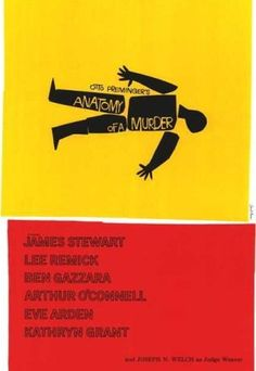 Graphic design by Saul Bass