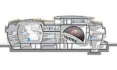 The Architecture — ESO Supernova Planetarium Architecture, Image Archive, 2d, Connection, Decor, Decoration, Decorating, Deco