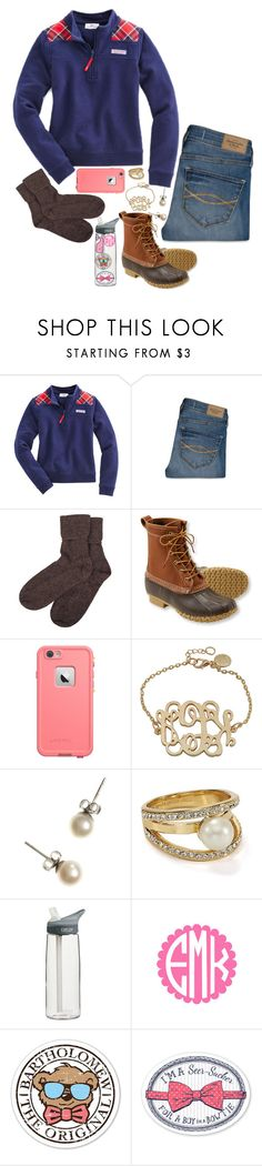 """Merry (late) Christmas!!"" by a-little-prep-in-your-step ❤ liked on Polyvore featuring Vineyard Vines, Abercrombie & Fitch, Brora, L.L.Bean, J.Crew, Kate Spade and CamelBak"