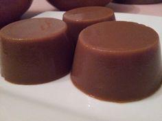 Flan de calabaza y cacao, Dieta Dukan (crucero)