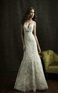 Allure Bridals 8634 Vintage Lace Wedding Dress