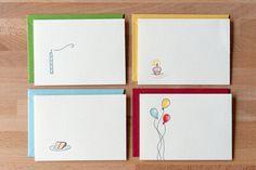 birthday card variety pack por betsyannpaper en Etsy