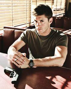 intense promo shot of Jensen