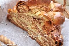 Hungarian Desserts, Snack Recipes, Cooking Recipes, Czech Recipes, Strudel, Baked Goods, Ale, Sweets, Bread