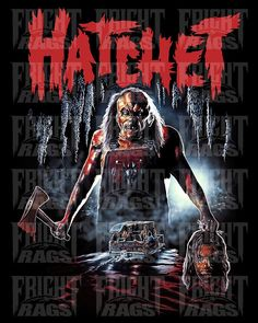 Hatchet - 10th Anniversary All Movies, Comedy Movies, Scary Movies, Horror Movies, Movie Tv, Popcorn Times, Horror Themes, Tv Actors, 10 Anniversary