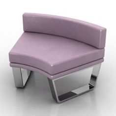 Sofa one - model for interior visualization. 3d Visualization, 3ds Max, Vanity Bench, Sofas, Interior, Model, Objects, Tables, Chairs