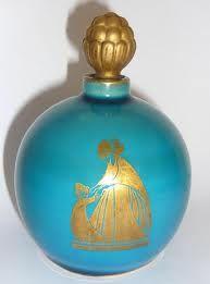 Original Arpege fragrance bottle by Sevres - Jeanne Lanvin Lanvin Perfume, Parfum Paris, Milly La Foret, Perfume Making, Vintage Perfume Bottles, Oil Bottle, Shabby, Soaps, Crystals