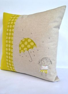 applique embroidery design. (like shower)