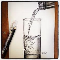 PETER PERLEGAS... graphite drawing