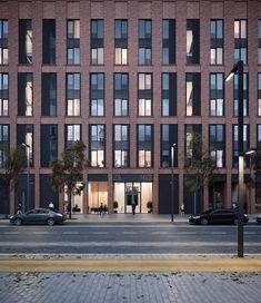 ZIL_16.3 by breath architects, фрагмент фасада #zilart #breatharchitects #facade #architecture #brickfacade #detail #зиларт #кирпичныйфасад #архитектурамосквы