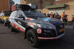 Dakar: Audi Q7 3.0 TDI at ONEIGHTURBO