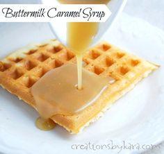 caramel-buttermilk-syrup- sub heavy cream? Add bourbon?