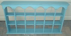 Voyage Blue Wall Shelf  Painted Furniture from Vintage Paints