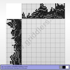 Griddlers Puzzle 179193 M.A.Bazovsky, Maly Bysterec, 1927