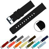 #5: BARTON Quick Release - Choice of Colors & Widths (18mm 20mm or 22mm) - Crimson Red 22mm Watch Band Strap | http://ift.tt/2cl82Sl shares men Watches collection #Get #men #watches #fashion