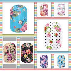 Jamberry's Spring/Summer Garden Party wraps! http://debrajohnson.jamberrynails.net