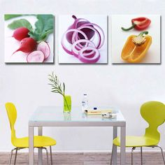Quadro moderno e componibile per cucina n.07 Non Woven Bags, Home Goods Store, Wall Art Pictures, Christmas Gift Tags, Home Wall Art, Modern Wall, Kitchen Decor, Canvas Prints, Painting