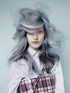 Hair Color - George Alderete  hair - Daan Kneppers  MakeUp - Suzanne Verberk  Photo - Jasper Abels  by George Alderete on Bangstyle, House of Hair Inspiration  Bangstyle.com