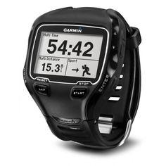 Relógio Esportivo com Monitor Cardíaco e GPS Garmin Forerunner 910XT - Preto - Esporte e Fitness