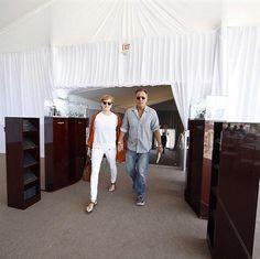 Bruce Springsteen and Patti Scialfa, Miami april 2015