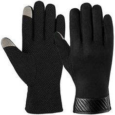 Back To Search Resultsapparel Accessories Competent Ozero Windproof Warm Gloves Winter Glove Liners Thermal Polar Fleece Hands Warmer In Cold Weather For Men And Women Black Gray Excellent In Cushion Effect