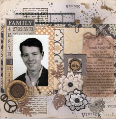 I used Teresa Collins paper for this layout of a favorite cousin. Always glad to get one more photo done but so many to go. Thanks for glancing. Vintage Scrapbook, Scrapbook Layouts, Teresa Collins, Cousins, Scrapbooks, Thankful, Robin, Scrapbooking Layouts, Scrapbook