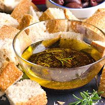 Garlic, Olive Oil and Balsamic Vinegar Dip - iFOODreal   Delicious Clean Eating Recipes