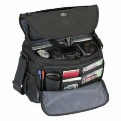 Amazon.com: Tamrac 5784 Evolution Messenger 4 Photo/Laptop Bag (Black): Camera & Photo